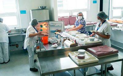 Central de Alimentación: cuidando la salud nutricional de los pacientes hospitalizados