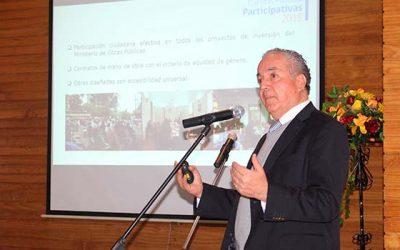 Con gran participación ciudadana se realiza cuenta pública del MOP