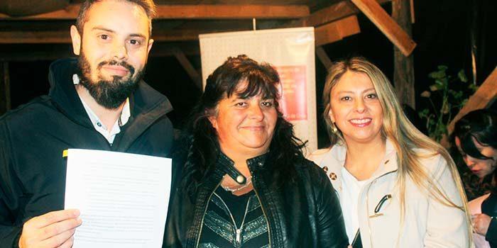 Dirigentes de Campamento Río Seco de Olivar firman acuerdo junto a Bienes Nacionales O'Higgins para su desalojo voluntario