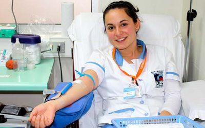 Donantes de sangre en San Fernando aumentan en un 62%