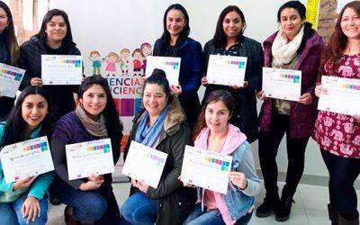 Educadoras de Integra adquieren mayores competencias en ciencias