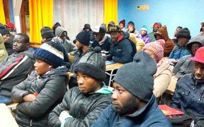 En Graneros abordan necesidades de comunidad haitiana