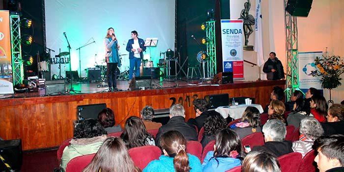 Festival de la voz, teatro y simposio dieron el vamos al Mes de la Prevención del Senda