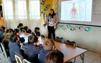Hospital Coinco realiza intervención en salud a comunidad escolar