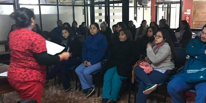 Hospital de Peumo expone nuevo Plan Regional de VIH