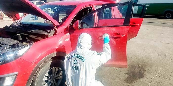 Labocar investiga insólito robo de vehículo en Olivar
