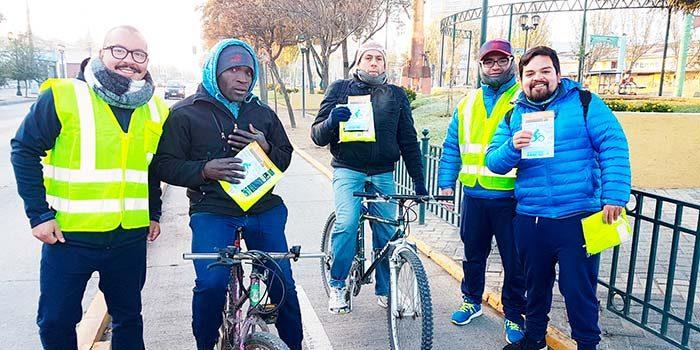 Municipalidad de Rancagua celebra el día mundial de la bicicleta