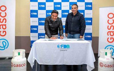 Municipalidad de San Fernando y Gasco firman convenio para donación de cilindros de gas