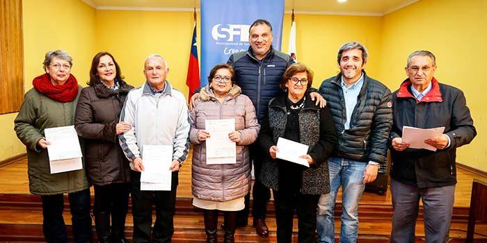 Organizaciones sociales sanfernandinas agradecen entrega de subvenciones municipales