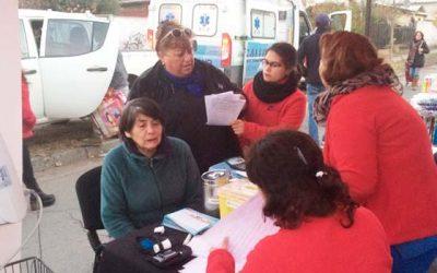 Positivo operativo de Salud realiza el Cecosf Santa Teresa en su sector