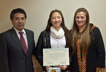 Premian a hijos de funcionarios del Poder Judicial ganadores de concursos de pintura y literatura