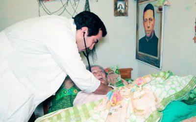Programa de pacientes postrados del Hospital Pichidegua mejoran la calidad de vida de sus usuarios