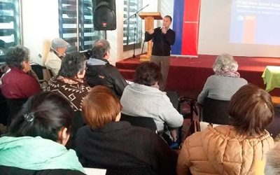 Salud Responde participa de Curso de Salud comunitaria en la Región