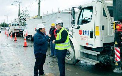 Seremi de Energía destaca resultados por coordinación con empresas eléctricas ante frente de mal tiempo
