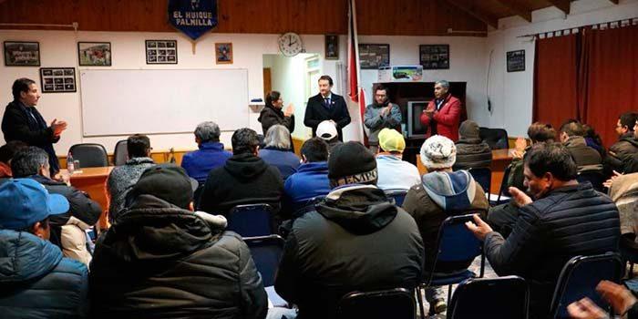 Vecinos de El Huique participaron de Diálogo Ciudadano