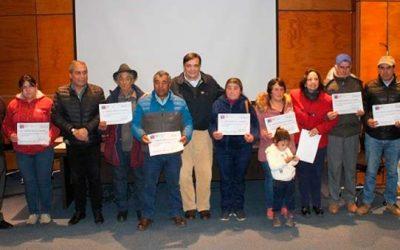 78 pequeños agricultores de Pichilemu recibieron incentivos del Prodesal