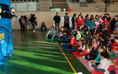 Alcalde Eduardo Soto lanzó el Campamento Deportivo de Invierno para la comunidad infantil