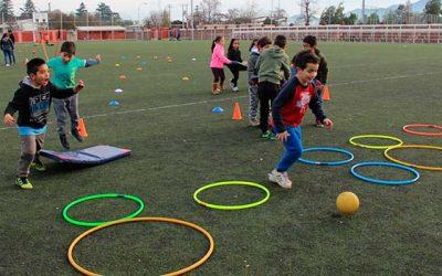 Campamento Deportivo benefició a más de 800 niños rancagüinos