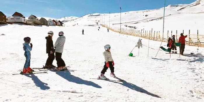 Comenzó oficialmente la temporada invernal en la comuna de Machalí