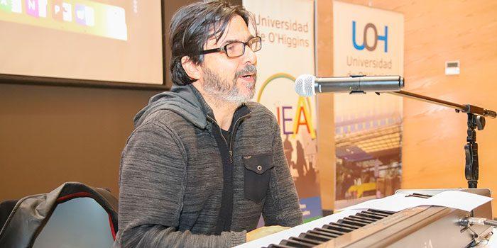Compositor nacional dicta clase magistral en la UOH sobre significado de la música en el cine