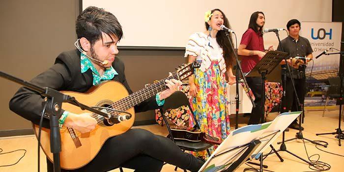 Con gran asistencia de público culminaron talleres de Músicas y ritmos del Brasil de la UOH