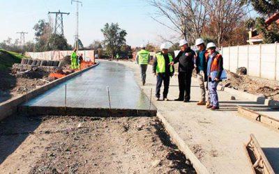 Construcción nudo vial Ruta 5 - Miguel Ramírez el aporte del MOP a la Vialidad Urbana