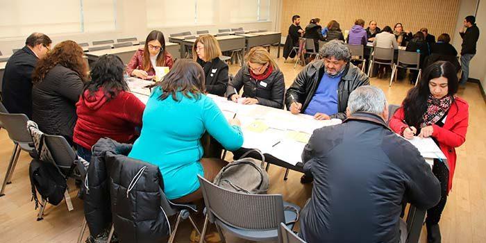 Equipos directivos educacionales de la región potencian prácticas pedagógicas en taller liderado por UOH y Elige Educar