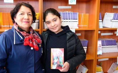 Estudiante de Olivar representa a la comuna en importante certamen lector