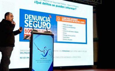 Exponen principales líneas de trabajo en seguridad pública a nivel comunal