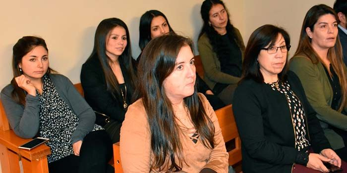 Funcionarios del Juzgado de Garantía de Rancagua se capacitan en metodologías de trabajo de los tribunales de tratamiento de droga