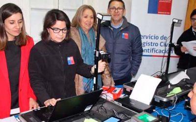 Gobernación de Cachapoal coordinó operativo de entrega de cédulas de identidad a personas en situación de calle