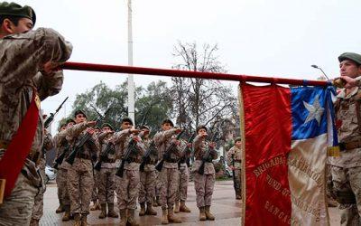 Intendente encabeza la ceremonia de Juramento a la Bandera