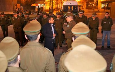 Los delincuentes deben saber que este Gobierno tendrá a las policías en las calles