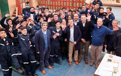 Inversión de $14 mil millones para reposición del Liceo Industrial de San Fernando