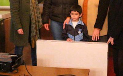 Más de 70 niños de Olivar reciben el Rinju