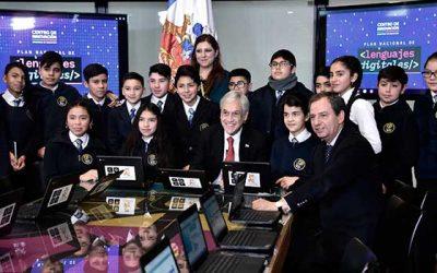 Ministro de Educación lanza Centro de Innovación Mineduc y presenta el Plan Nacional de Lenguajes Digitales