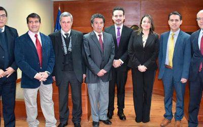Presidente(s) de la Corte de Apelaciones de Rancagua toma juramento a jueces de tribunales de la jurisdicción