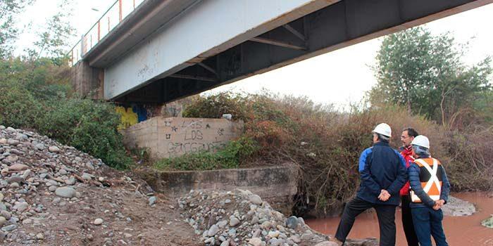 Puentes y caminos de la región son inspeccionados por autoridades del MOP