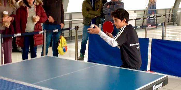 Rancagüinos del taller municipal de tenis de mesa se preparan para el torneo nacional