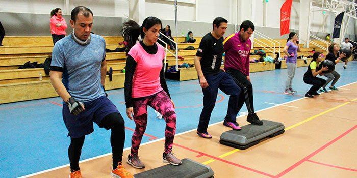 Rancagüinos participan en masivo de entrenamiento funcional