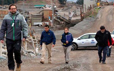 Región de O'Higgins: SMA renueva clausura de Áridos Cachapoal