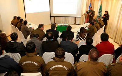 Reunión de STOP para mejorar la seguridad en la región de OHiggins