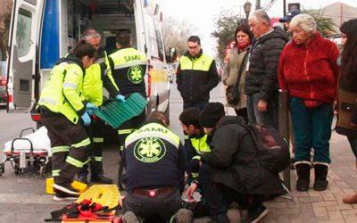 Samu en acción: rescate de paciente atropellada