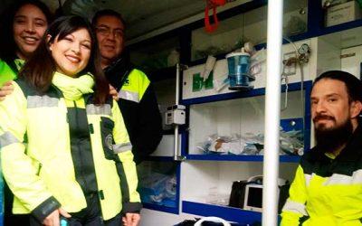 SAMU incorpora inéditos equipos para enfermedades respiratorias