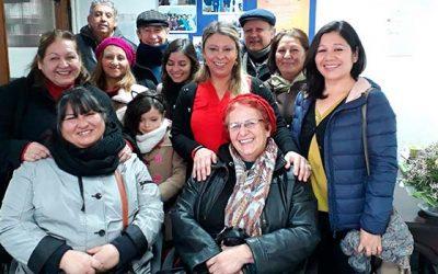Seremi de Gobierno se reúne con dirigentes vecinales de Rancagua