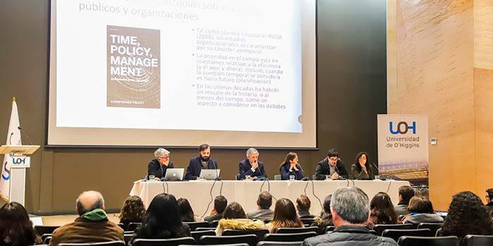 Universidad de O'Higgins realiza exitoso seminario sobre gestión y políticas públicas