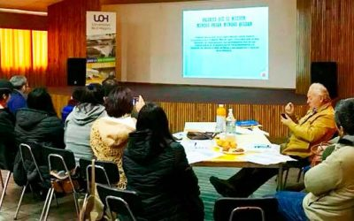 UOH realiza diálogos con dirigentes locales de toda la región