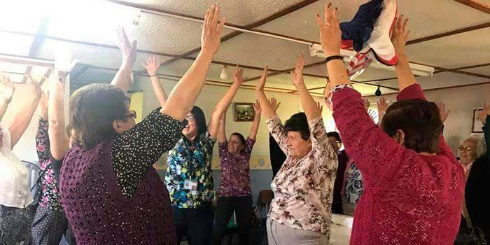 Adultos mayores de Pichidegua cuentan con espacios saludables