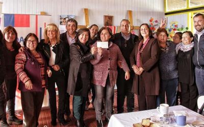 Agrupaciones de mujeres rurales reciben aportes para sus emprendimientos