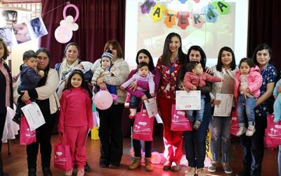 Alta participación en taller educativo y concurso fotográfico de lactancia materna